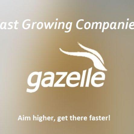 """FAST GROW COMPANY """" Gazelle """""""