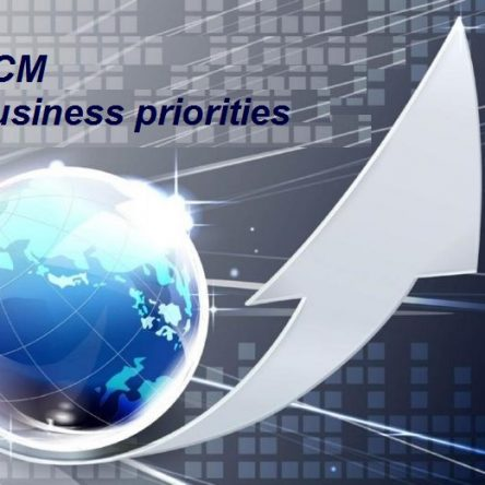 Business policies and business priorities of BCM