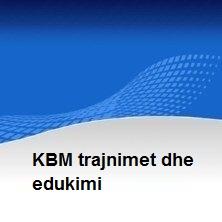 KBM trajnimet dhe edukimi